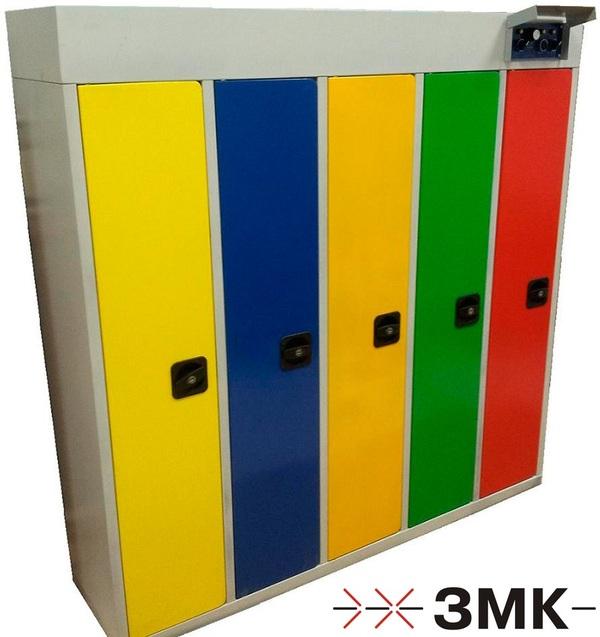собранный сушильный шкаф для детского сада на 5 комплектов